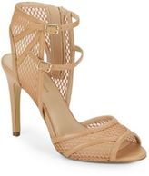 Saks Fifth Avenue Riva Double-Strap Mesh Sandals