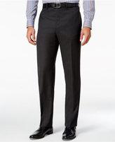 Lauren Ralph Lauren Men's Classic-Fit Charcoal Herringbone Wool Dress Pants