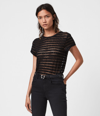 AllSaints Bela Stripe T-Shirt