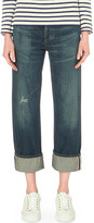 Citizens of Humanity Cora straight high-rise turn-up jeans