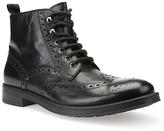 Geox Blade Brogue Boots, Black