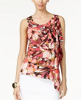 Thalia Sodi Embellished Flutter Blouse, Only at Macy's