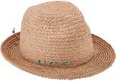 San Diego Hat Company Women's Fedoras NATURAL - Natural Raffia Fedora