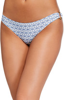 Tory Burch Geo Printed O-Ring Hipster Bikini Bottom