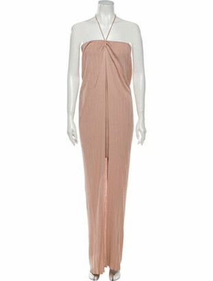 Jacquemus Halterneck Long Dress w/ Tags Pink