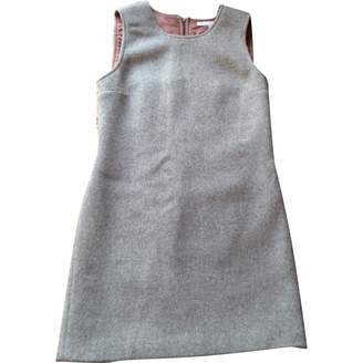 L'Autre Chose Grey Wool Dress for Women