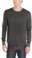 Kenneth Cole New York Kenneth Cole Men's Stripe Crew W/Contrast
