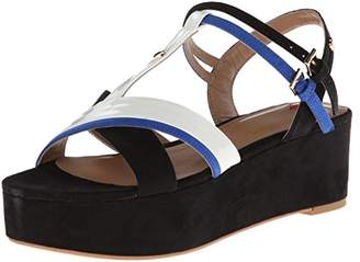 Love Moschino Colorblock Strappy Sandal