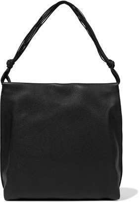The Row Wander Textured-leather Shoulder Bag