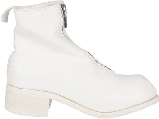 Guidi PL1 Front Zipped Ankle Boots