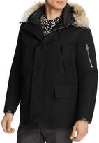 Sandro Fur Trim Antarctic Coat - 100% Exclusive