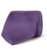 Canali - 7cm Silk-jacquard Tie