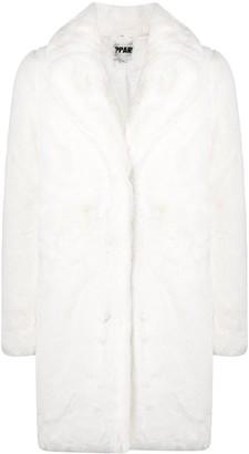 Apparis Mid-Length Faux-Fur Coat