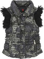 Richmond Jr Sleeveless leopard jacket