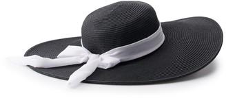Sonoma Goods For Life Women's SONOMA Goods for Life Floppy Hat with Ribbon