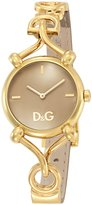 Dolce & Gabbana Women's DW0498 Leather Quartz Watch with Dial
