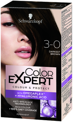 Schwarzkopf Colour Expert Permanent Hair Colour 3.0 Darkest Brown