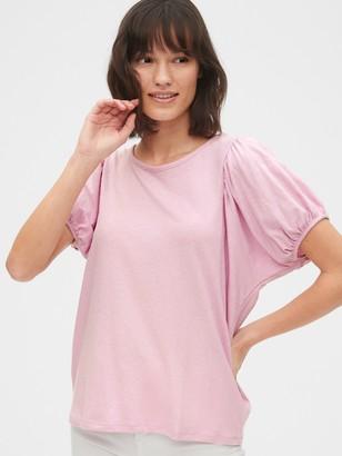 Gap Puff Sleeve Shirt