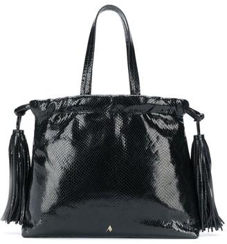 ATTICO Tassel-Embellished Tote Bag