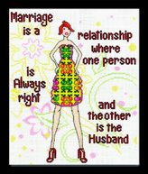 Designworks Design Works Marriage Cross Stitch Kit