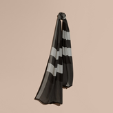 Burberry Lightweight Check Silk Scarf