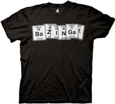 Ripple Junction Big Bang Theory Periodic Table Adult T-Shirt