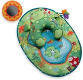 Tiny Love Tummy-Time Fun Frog Pillow & Mat Green