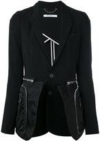 Givenchy classic zip blazer - women - Silk/Polyamide/Polyester/Viscose - 38