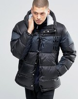 adidas ID96 Quilted Jacket In Black AY9155
