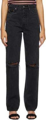 GRLFRND Black Ripped Mica Jeans