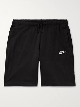 Nike Sportswear Club Cotton-Jersey Drawstring Shorts