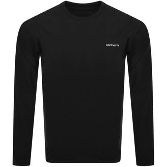 Carhartt Script Sweatshirt Black