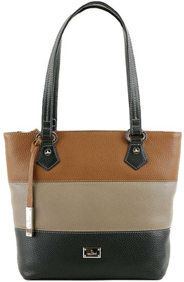 Cellini CLQ200 Hamilton Double Handle Taupe Tote Bag