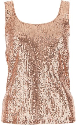 L'Autre Chose Sequin Embellished Top
