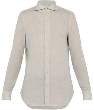 Finamore 1925 - Gaeta Linen Shirt - Mens - Grey