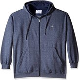 Champion Men's Big and Tall Marled Full Zip Performance Hoodie