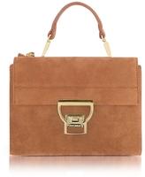 Coccinelle Terra Suede Arlettis Mini Bag w/Shoulder Strap