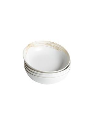 Dragonfly Essences Precieuses Soup Plates, Gold