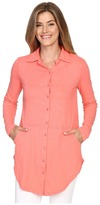 Mod-o-doc Slub Jersey Button Front Shirt