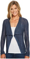 Lucky Brand Linen Drape Cardigan Sweater Women's Sweater