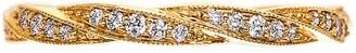 Sethi Couture Diamond Twine Band Ring