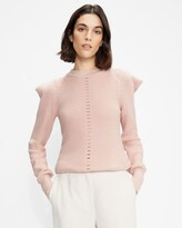 Thumbnail for your product : Ted Baker Structured Sleeve Detailed Sweater