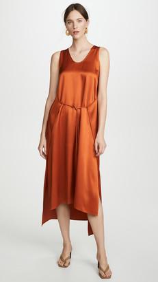 Rosetta Getty Apron Wrap Tank Dress