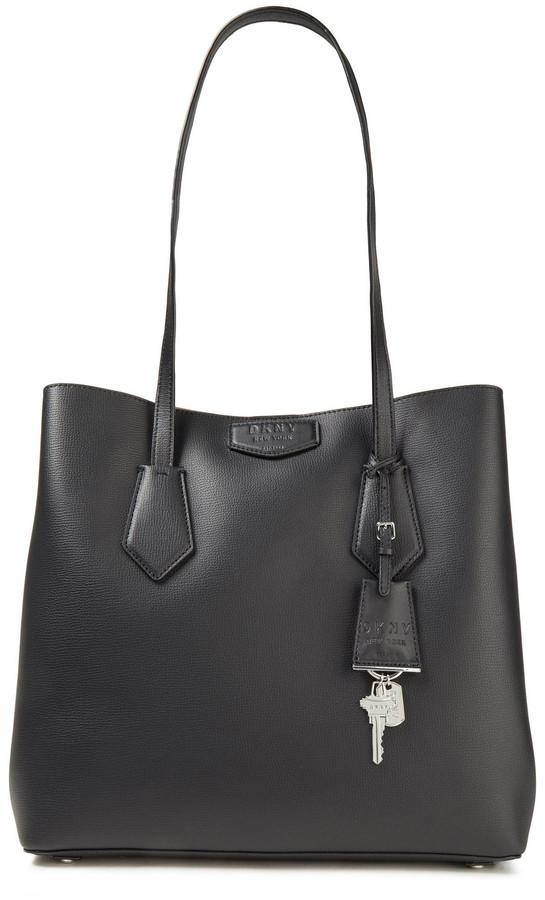 DKNY Sullivan Large Textured-leather Tote