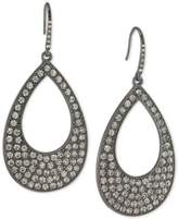 ABS by Allen Schwartz Pavé Open Drop Earrings