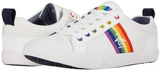 Original Penguin Devin (White/Rainbow) Men's Shoes