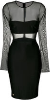Philipp Plein short sheer dress