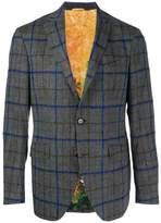 Etro check jacket