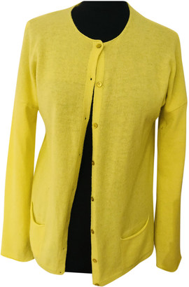 Benetton Yellow Cashmere Knitwear