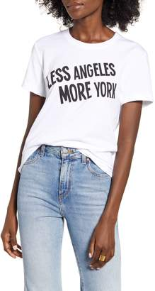 Prince Peter Less Angeles More York Graphic Tee
